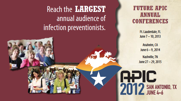 Join us at APIC 2012 in San Antonio